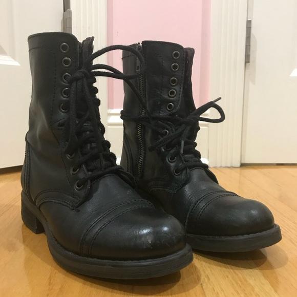 2e2d84aa4b6 steve madden troopa-2 combat boots. M 5b8b35433c9844dea852a321